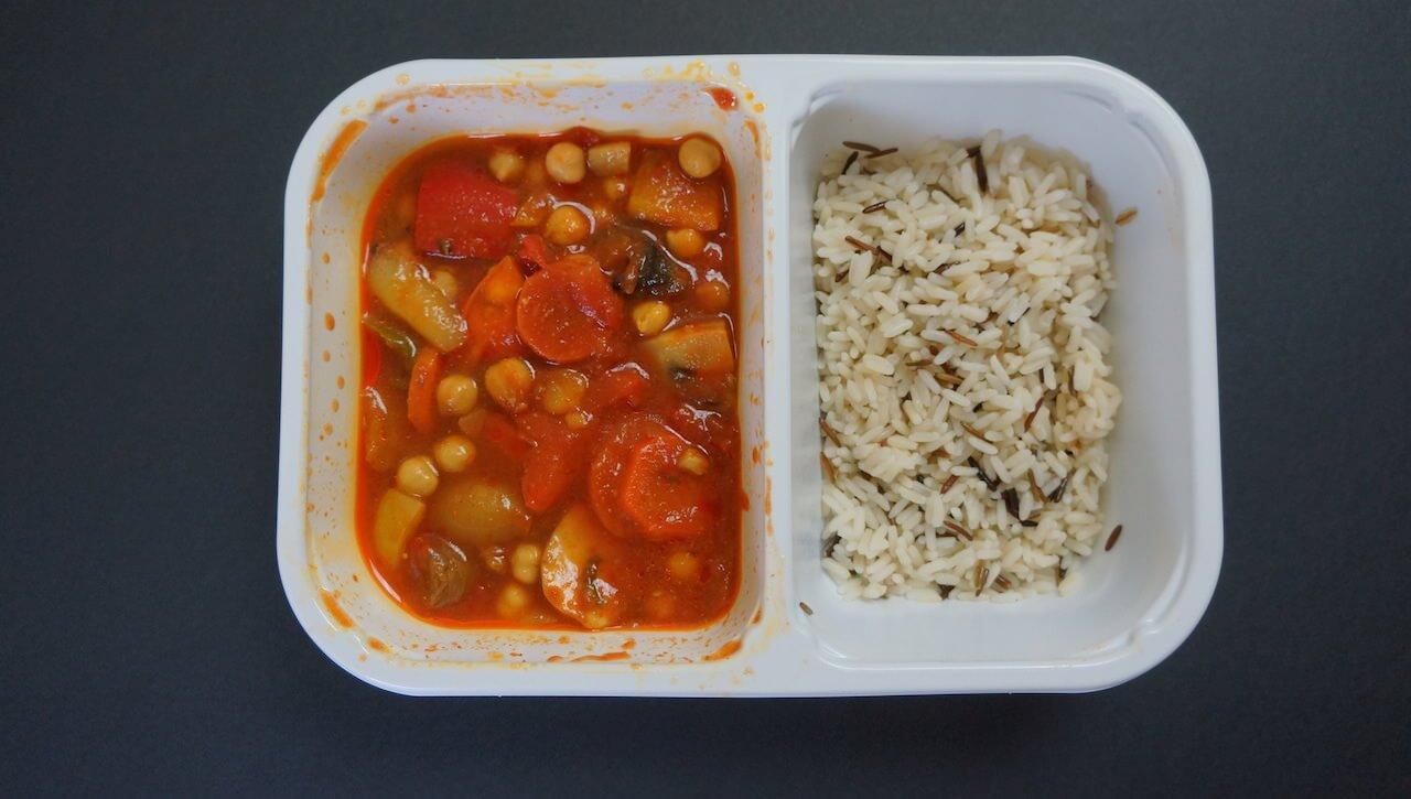 Papka warzywna z ryżem. Smakuje jak wygląda.