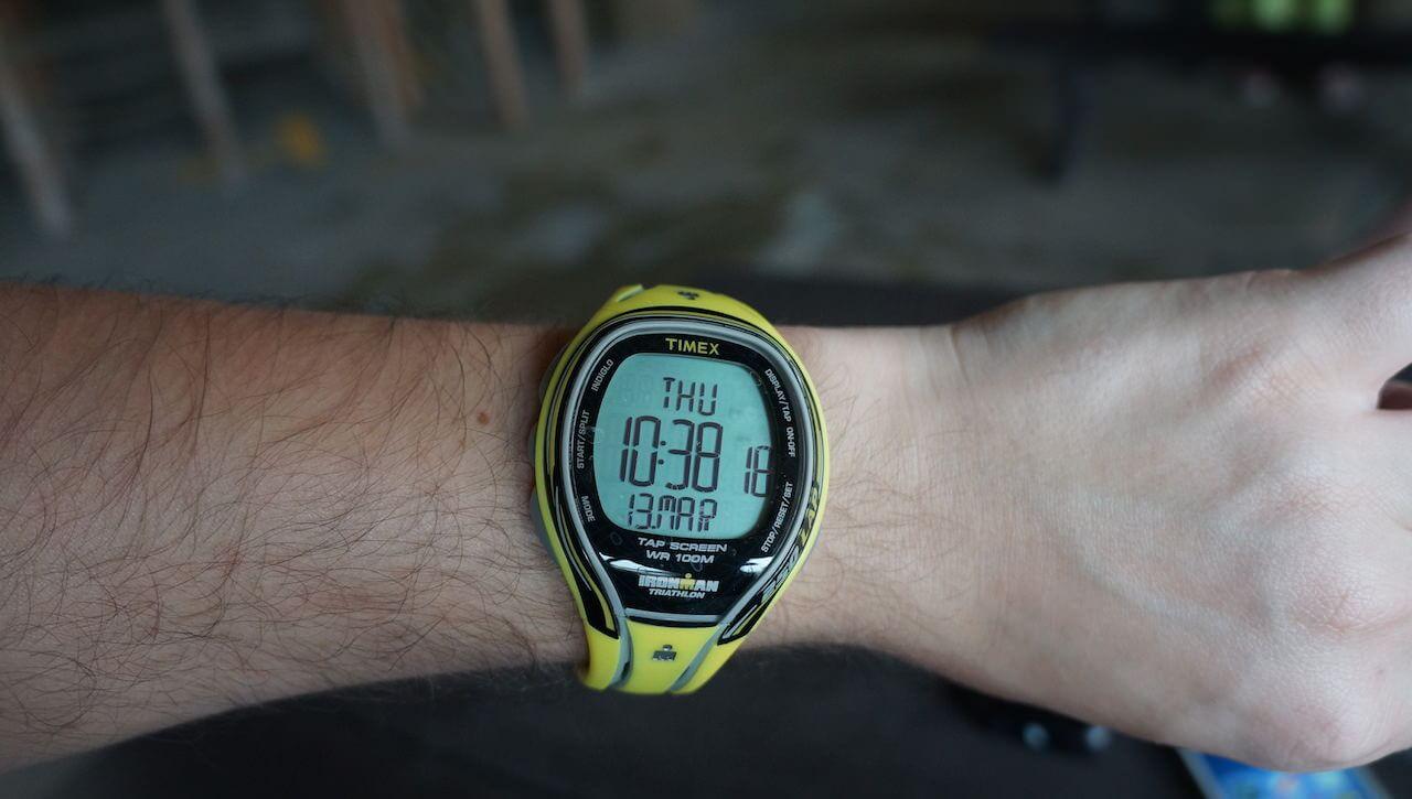 To ten drugi zegarek.