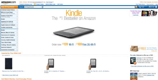 Wchodzimy na amazon.com i zakładamy konto. Wygląda to jak zakładanie konta pocztowego.