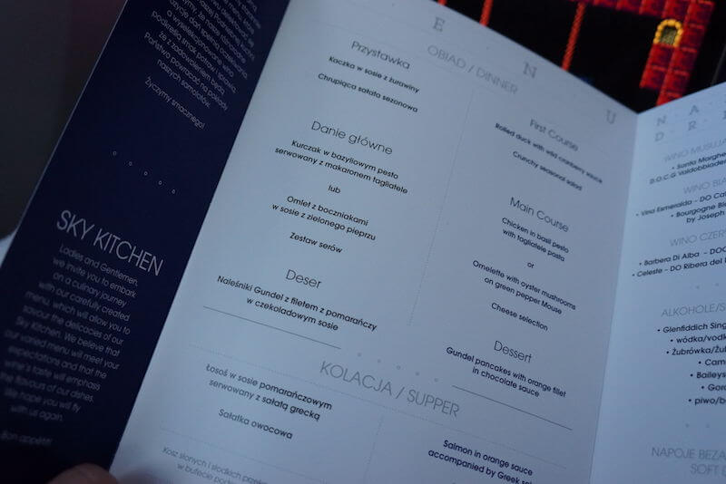 dreamliner-menu