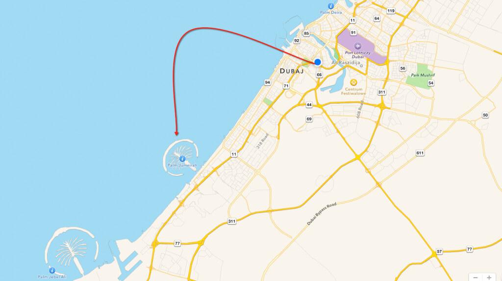 Wyspę palmową i Burj Al Arab – najwyższy, najdroższy i chyba najlepszy hotel na świecie mieszczący się obok niej chciałem zobaczyć od wielu, wielu lat. W zasadzie to od kilku, bo w poprzednim stuleciu tego wszystkiego tam nie było. Tak po prawdzie, to chcę tam polecieć także z trzeciego powodu. Mają park wodny. Chcę do parku wodnego. Chcę na zjeżdżalnię i takie tam.