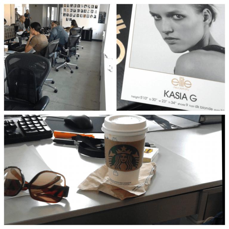 """Rankiem zaszliśmy tam, gdzie wypoczęta i wyspana Kasia musiała trochę popracować. Nie żebym był takim gentlemanem. Mają tam po prostu darmowego Starbucksa na hasło """"pracuję tutaj""""."""