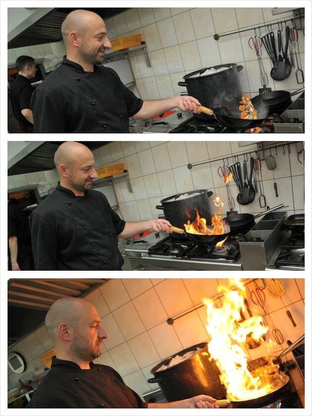 ogień-grill