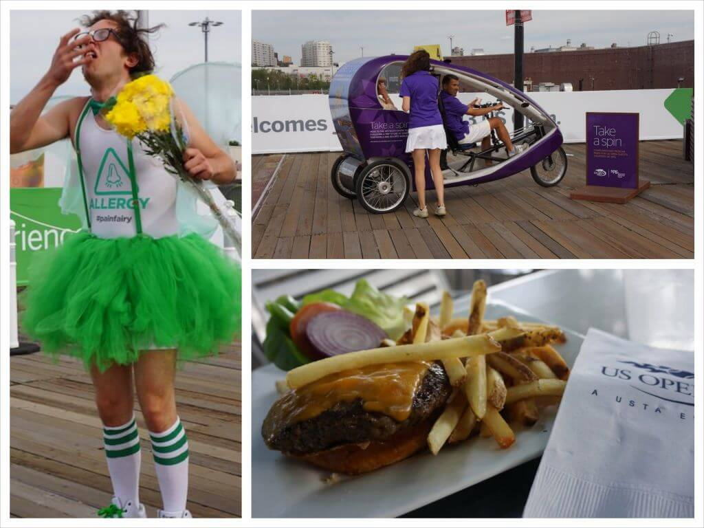 Ja też. Nie dałem rady posilić się na mieście. Głód zaspokoiłem hamburgerem. Był całkiem niesmaczny.