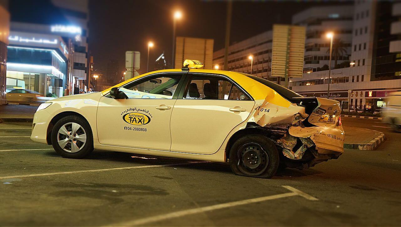 O, to mój znajomy taksówkarz.