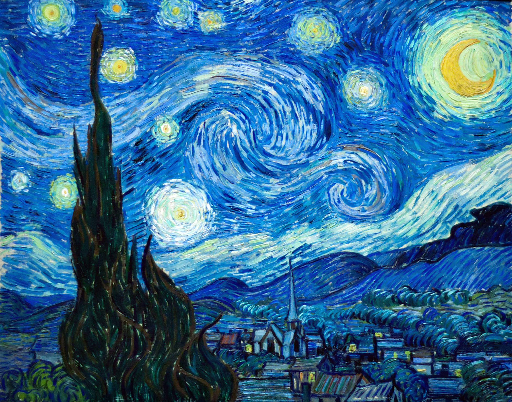 jason Hunt starry night