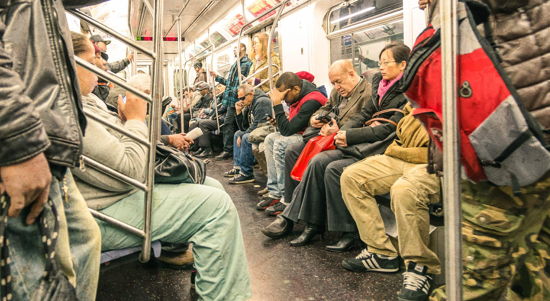 Subway NYC Jason Hunt