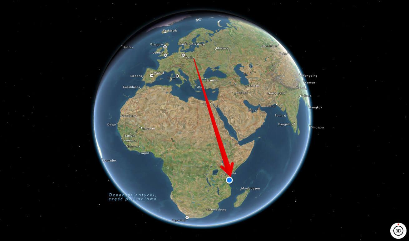 mapa zanzibar