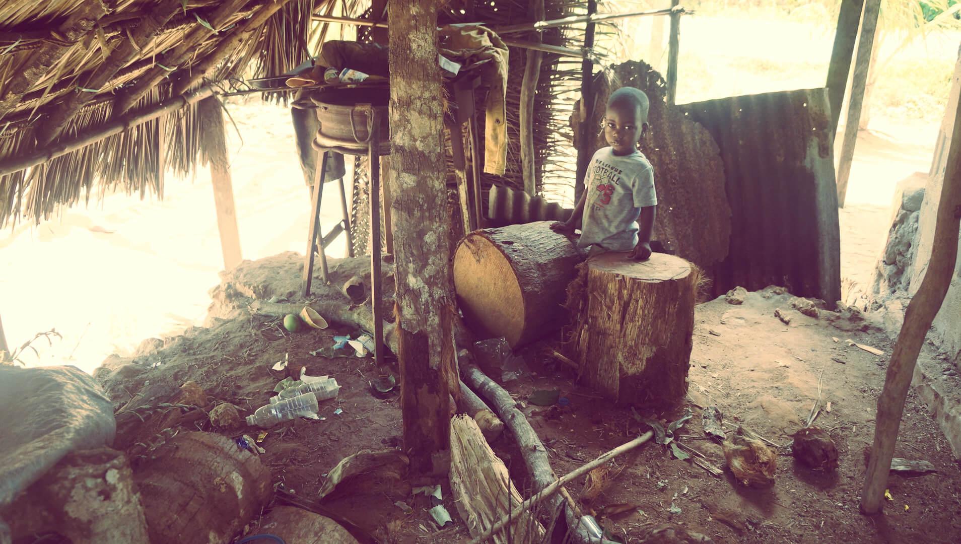 murzyn wioska zaznibar