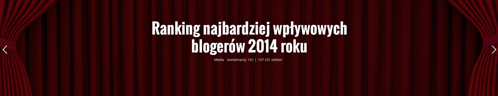 Ranking najbardziej wplwowych blogerow 2014 roku | JasonHunt 2015-12-14 19-01-47