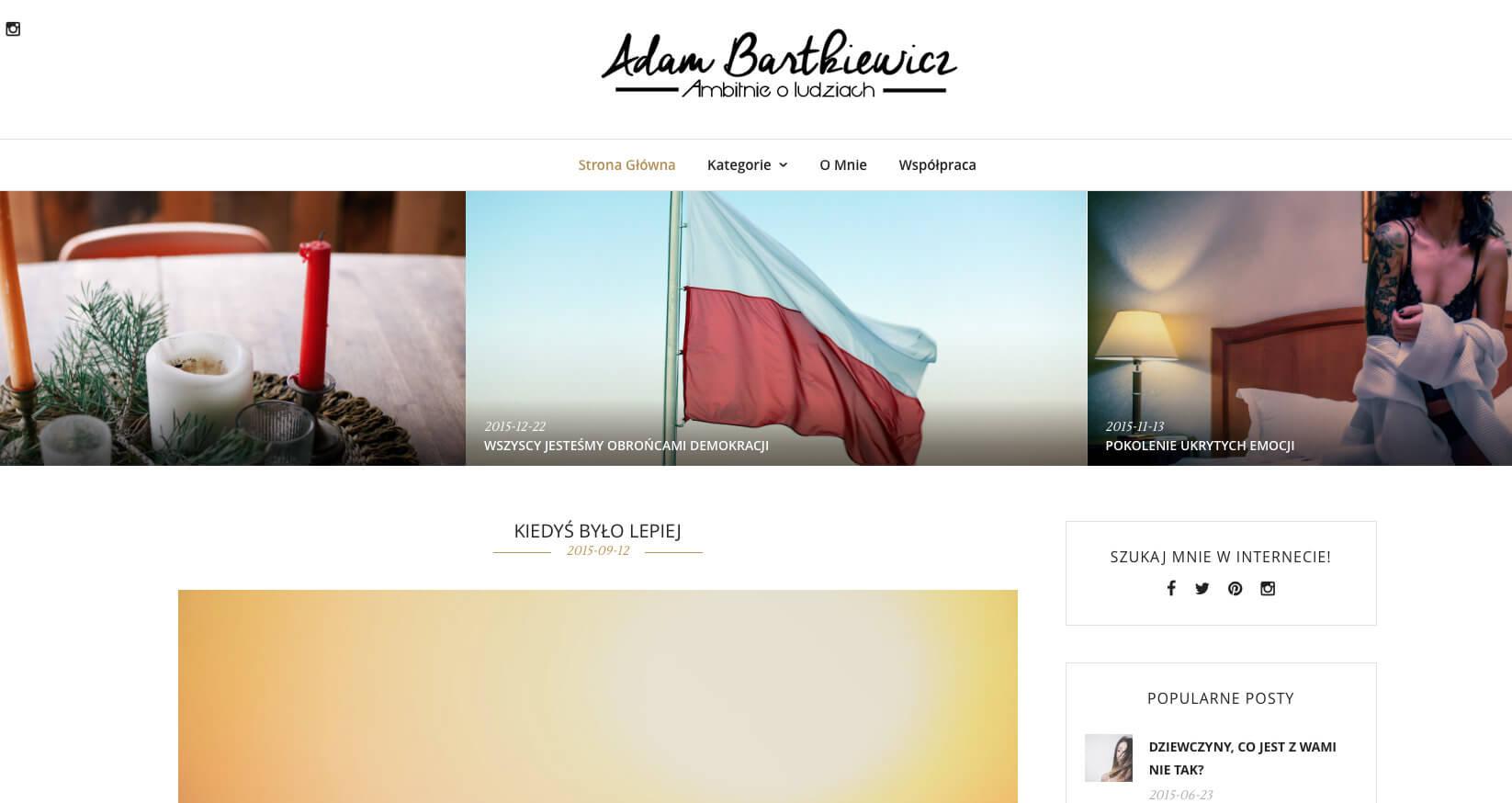 Adam Bartkiewicz - Ambitnie o ludziach 2016-01-18 13-35-33