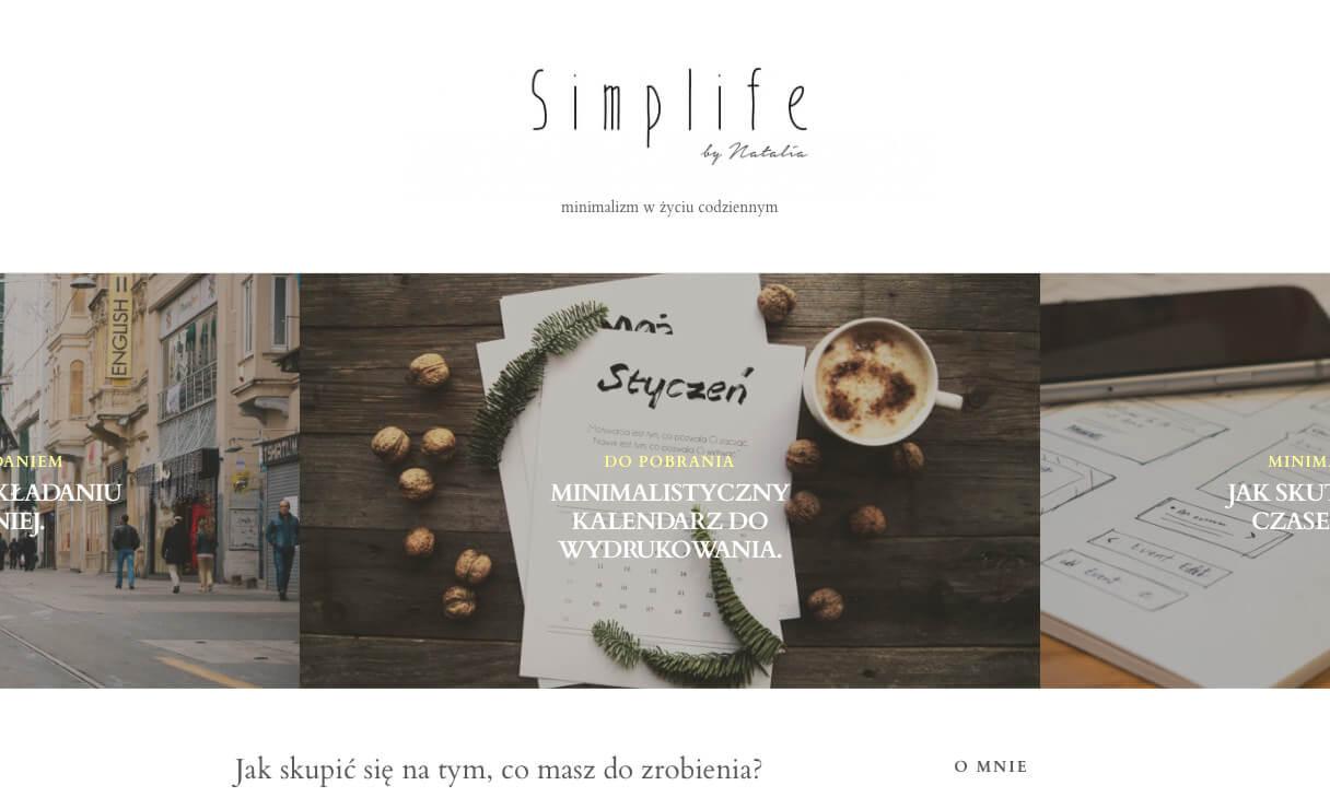 simplife.pl - minimalizm w życiu codziennym 2016-01-18 13-31-54